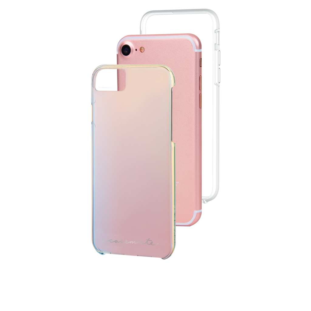 Naked Tough Iridescent iPhone 7 Case Layers