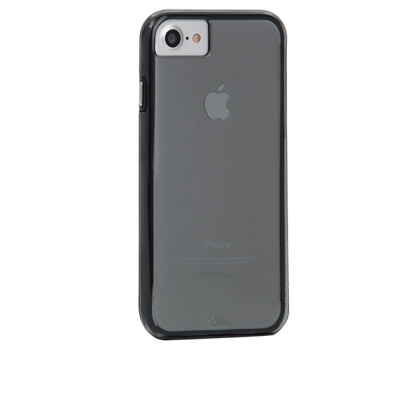Smoke Naked Tough iPhone 7 Case Back Right Angle