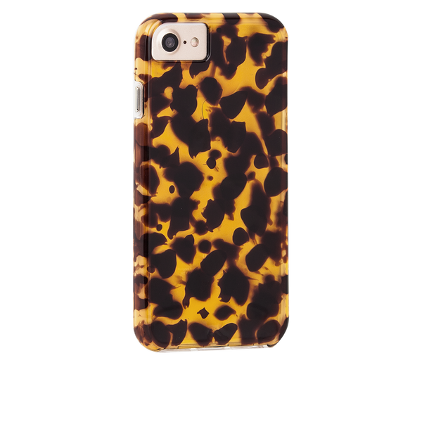 Naked Tough Tortoiseshell iPhone 7 Case Back Right Angle
