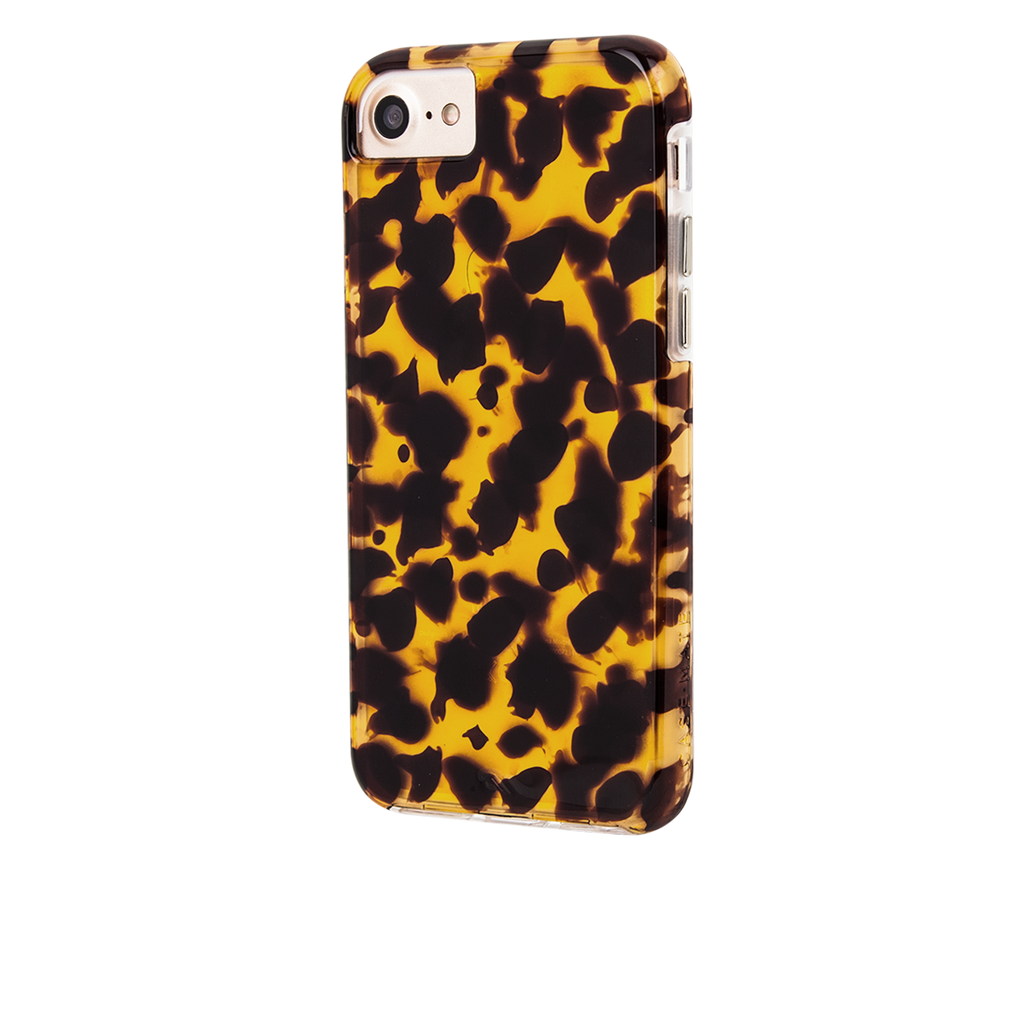Naked Tough Tortoiseshell iPhone 7 Case Back Left Angle