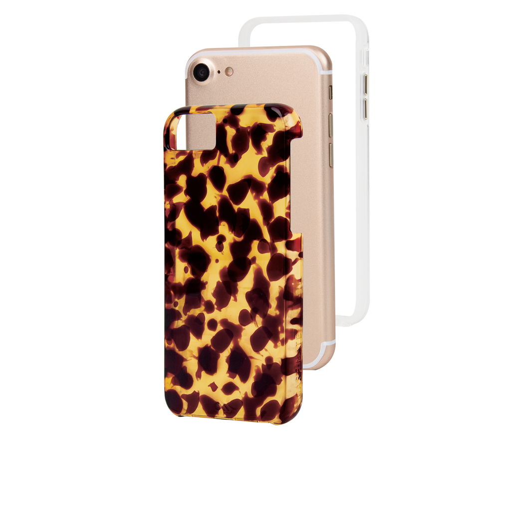 Naked Tough Tortoiseshell iPhone 7 Case Layers