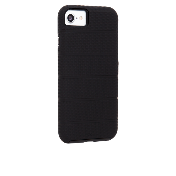 Black Tough Mag iPhone 7 Case Back Right Angle