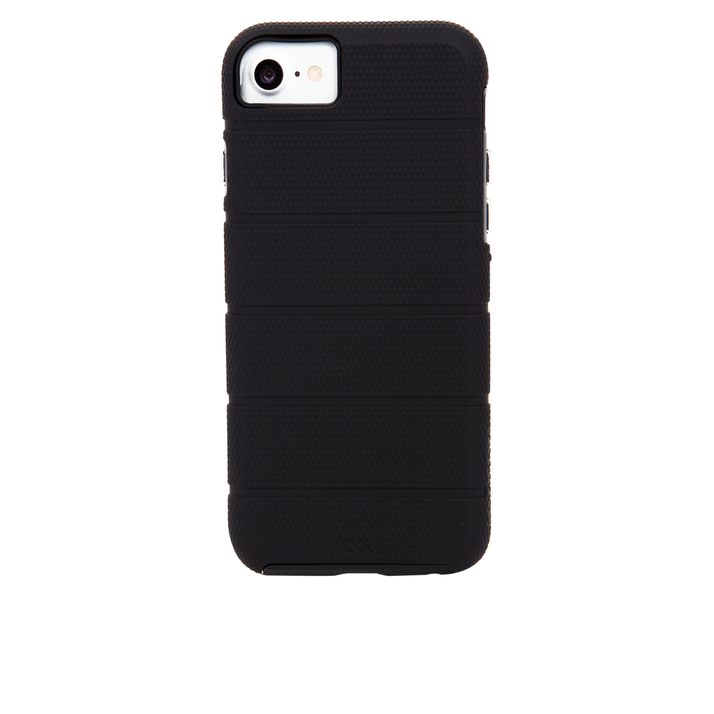 Black Tough Mag iPhone 7 Case Back
