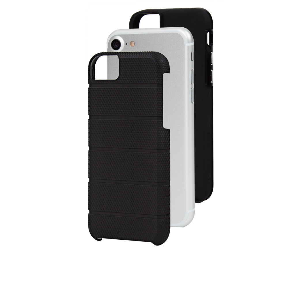 Black Tough Mag iPhone 7 Case Layers