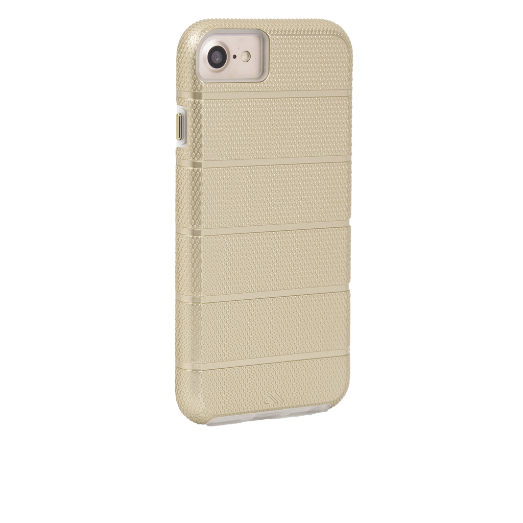 Gold Tough Mag iPhone 7 Case Back Right Angle