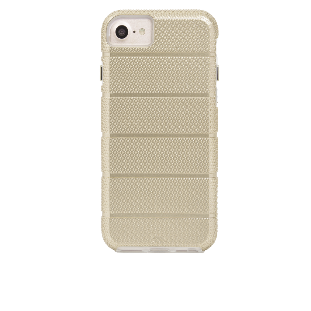Gold Tough Mag iPhone 7 Case Back
