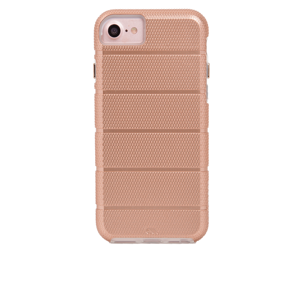 Rose Gold Tough Mag iPhone 7 Case Back