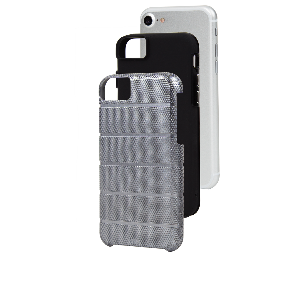 Titanium Gray Tough Mag iPhone 7 Case Layers