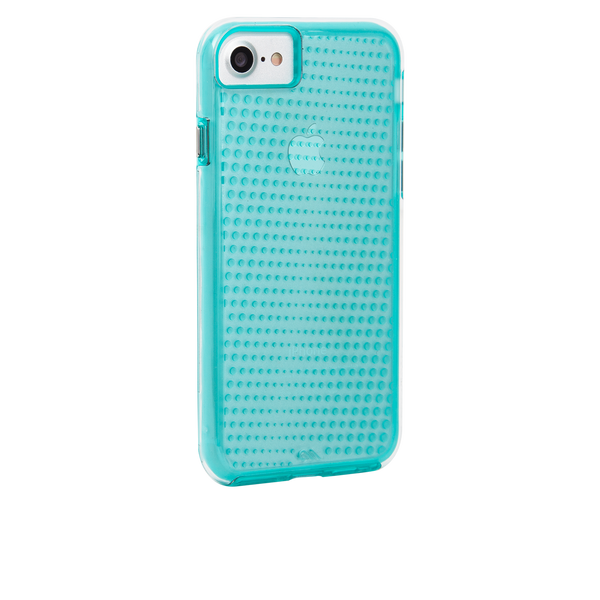 Mint Tough Translucents iPhone 7 Case Back Right Angle