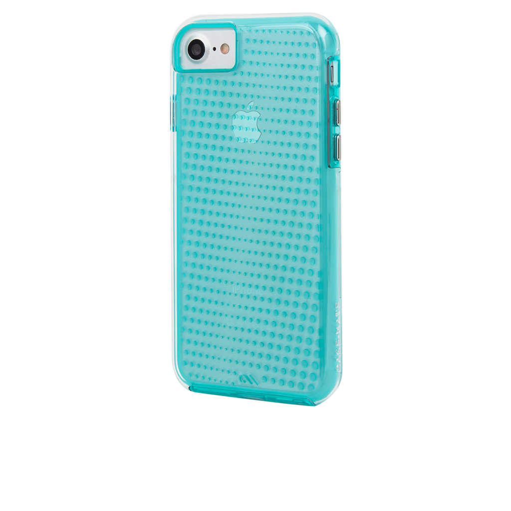 Mint Tough Translucents iPhone 7 Case Back Left Angle