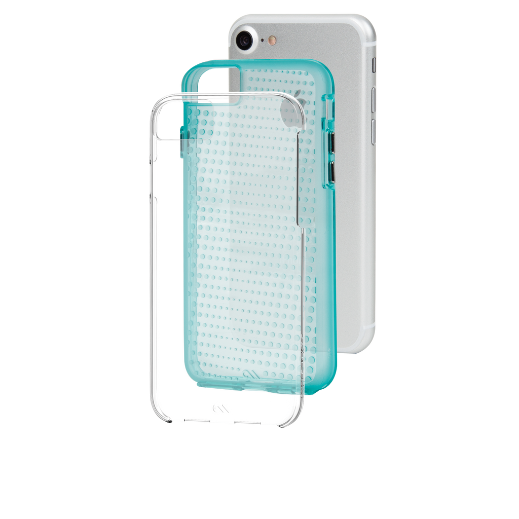 Mint Tough Translucents iPhone 7 Case Layers