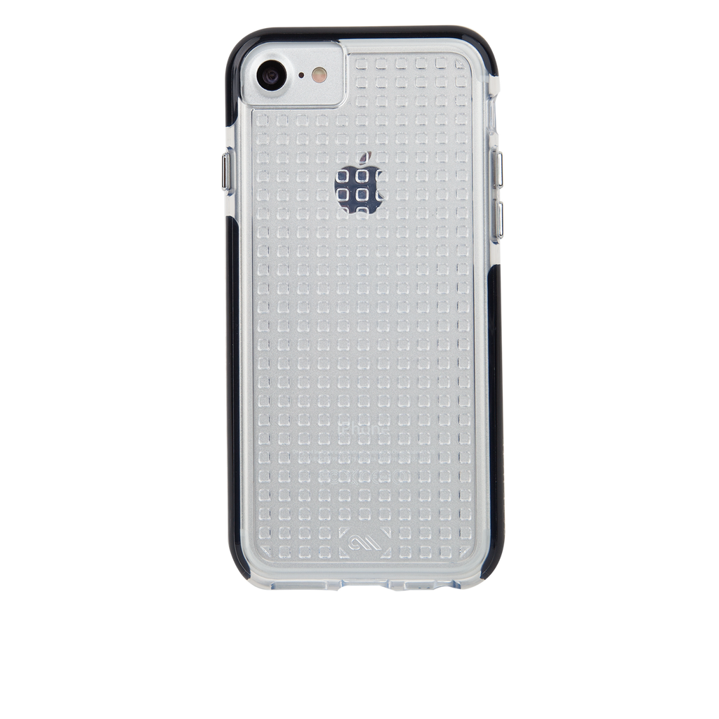 Clear And Black Tough Air iPhone 7 Case Back