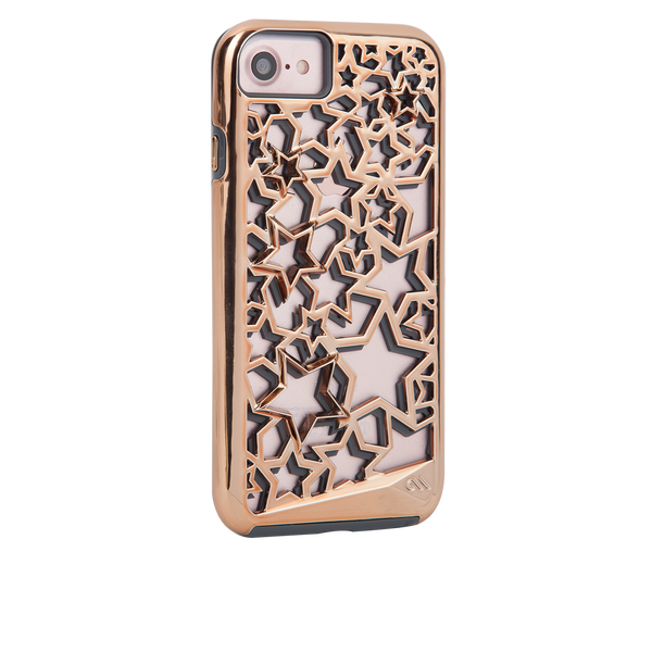 Tough Layers Stars iPhone 7 Case Back Right Angle