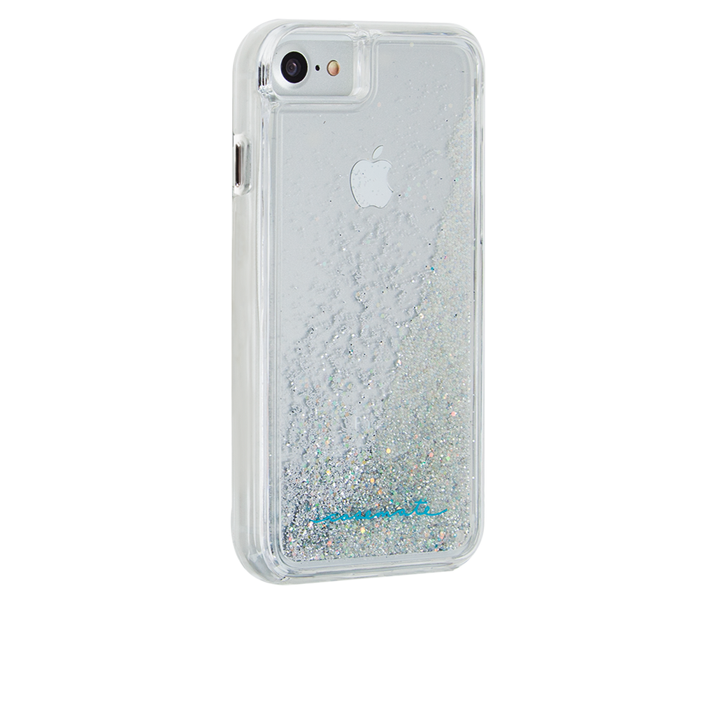 Iridescent Diamond Waterfall iPhone 7 Back Right Angle