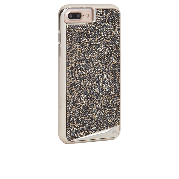 Champagne Brilliance iPhone 7 Plus Case Back Right Angle