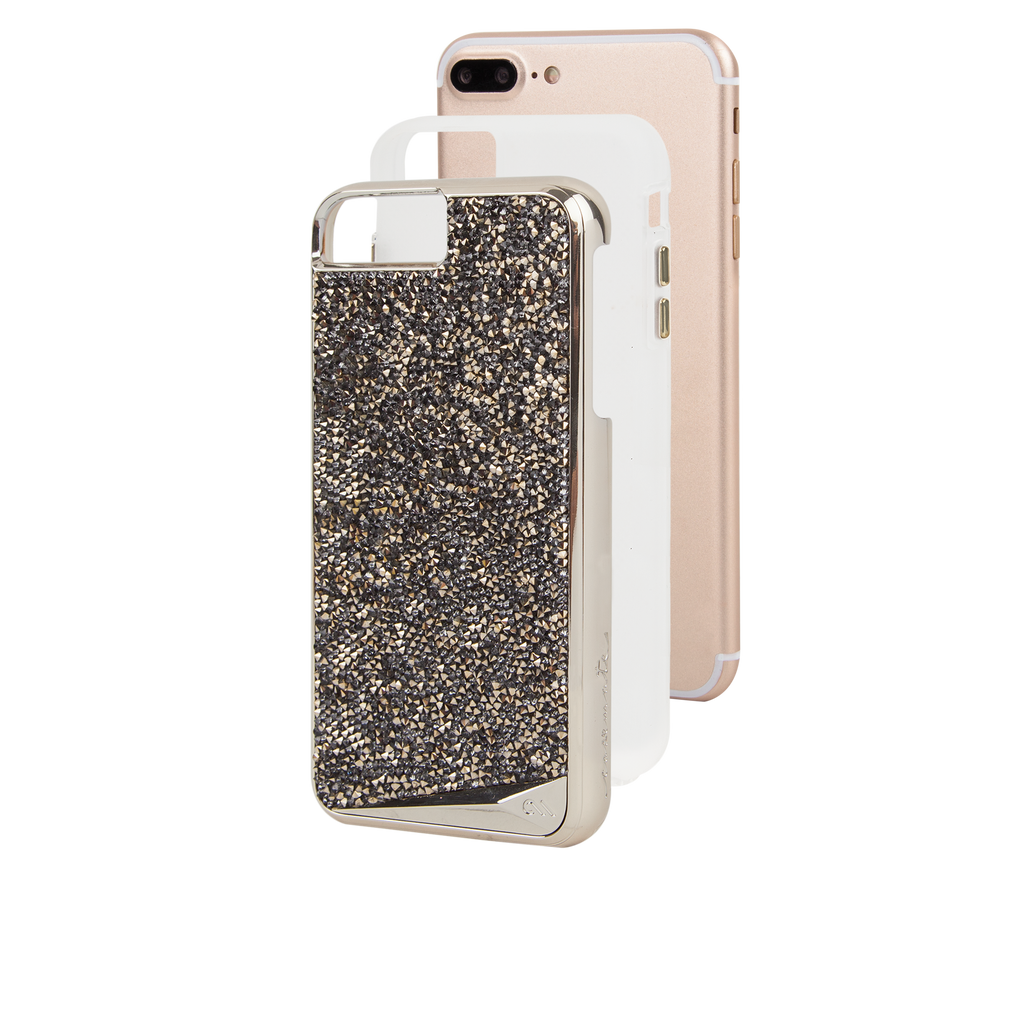 Champagne Brilliance iPhone 7 Plus Case Layers