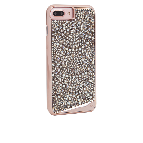 Brilliance Lace iPhone 7 Plus Case Back Right Angle