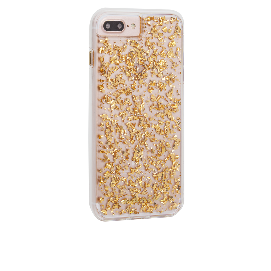 Gold Karat iPhone 7 Plus Case Back Right Angle