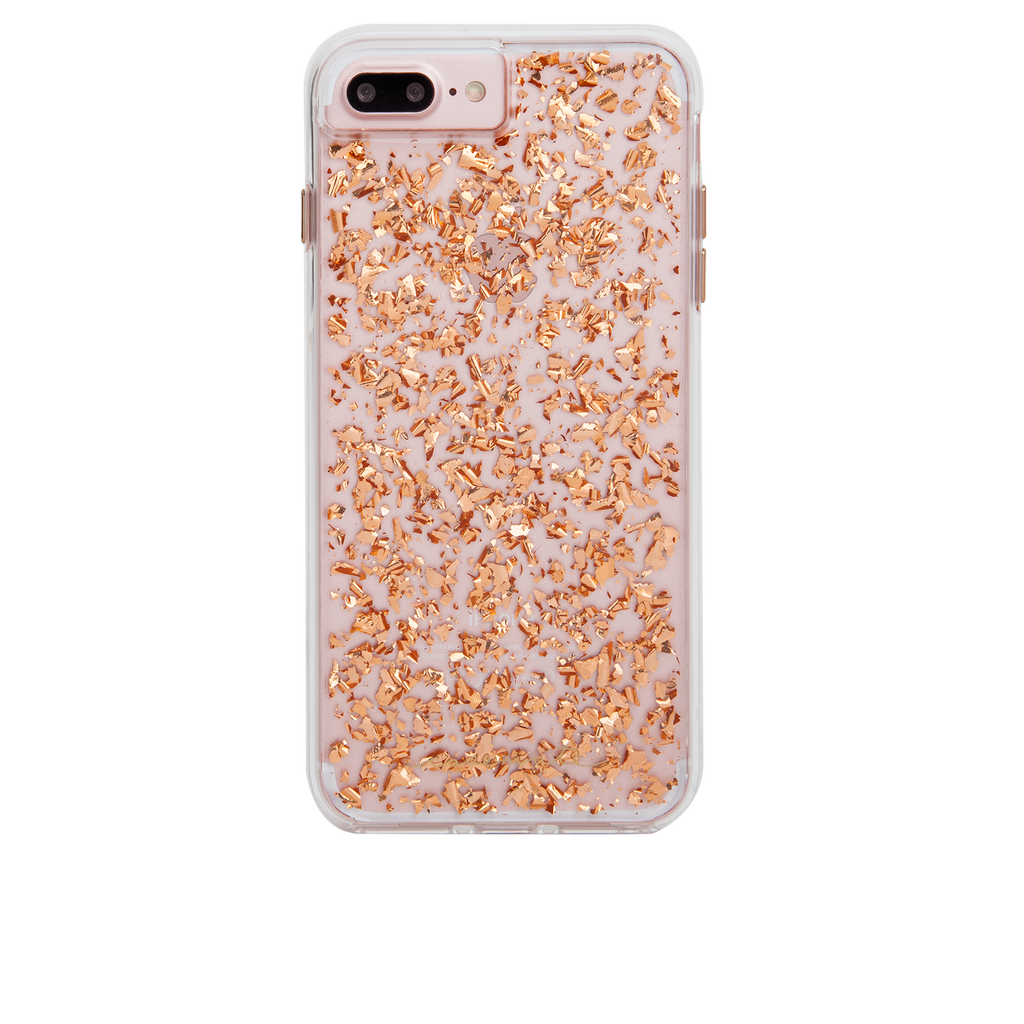 Rose Gold Karat iPhone 7 Plus Case Back