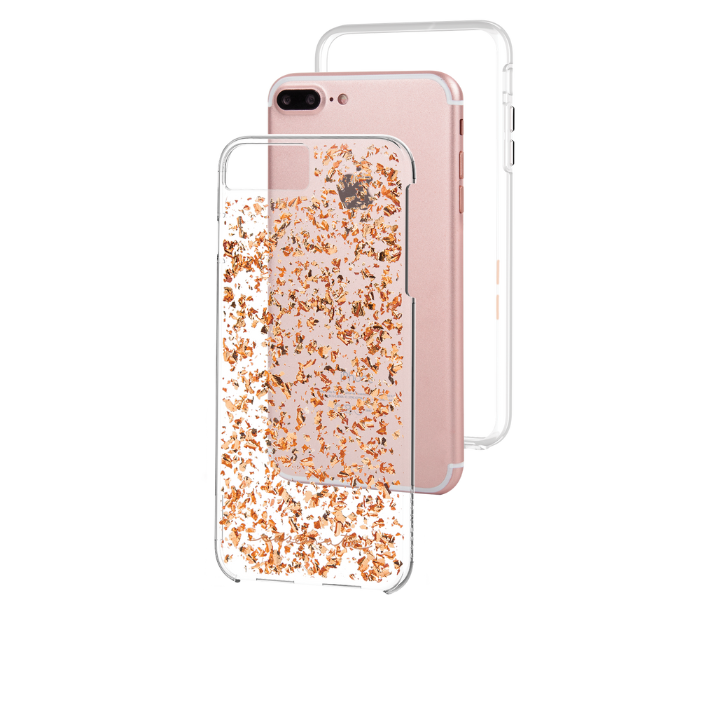 Rose Gold Karat iPhone 7 Plus Case Layers