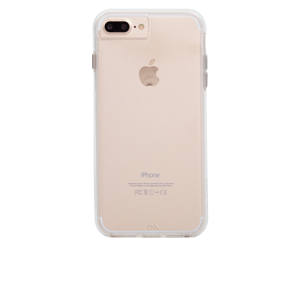 Naked Tough Clear iPhone 7 Plus Case Back