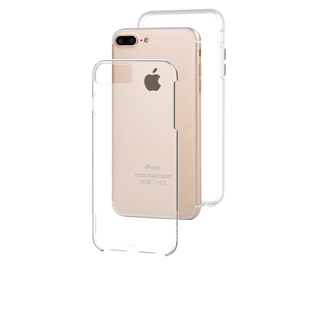 Naked Tough Clear iPhone 7 Plus Case Layers