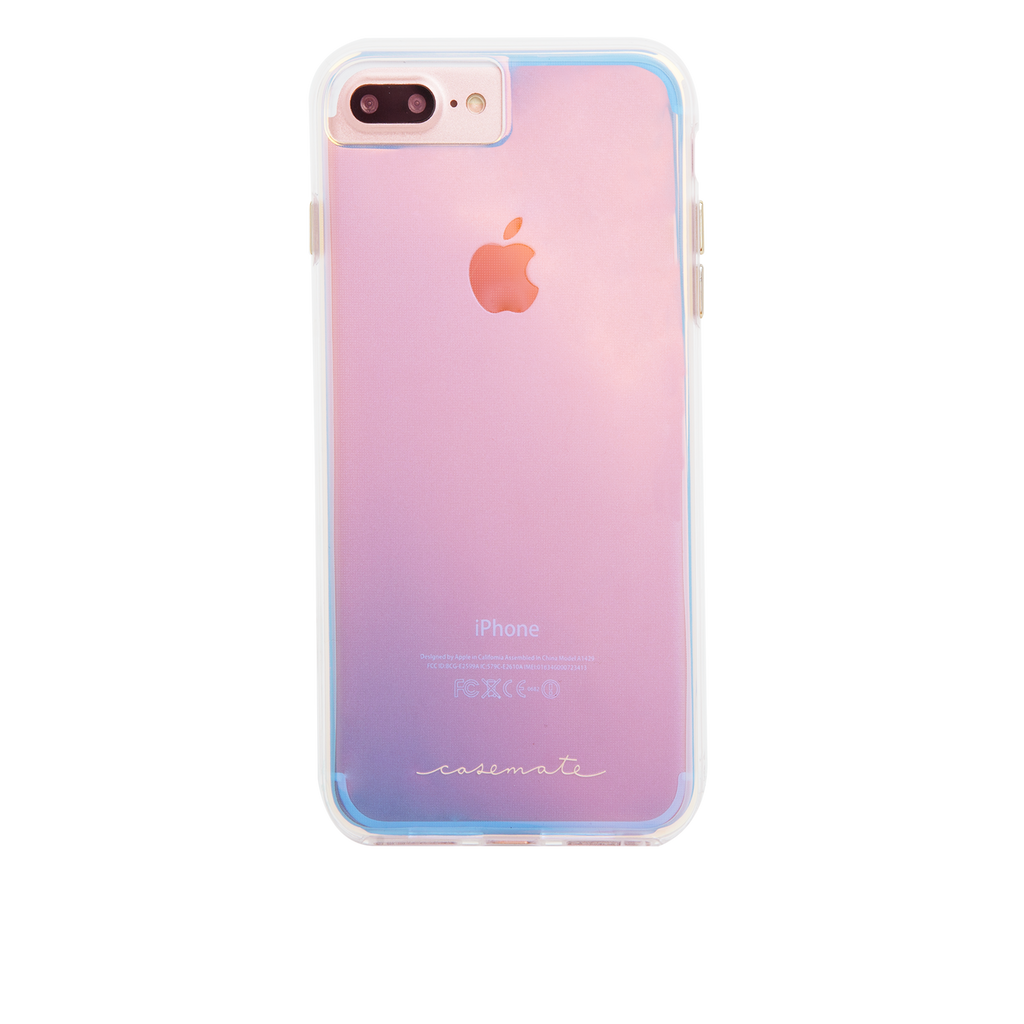 Naked Tough Iridescent iPhone 7 Plus Case Back