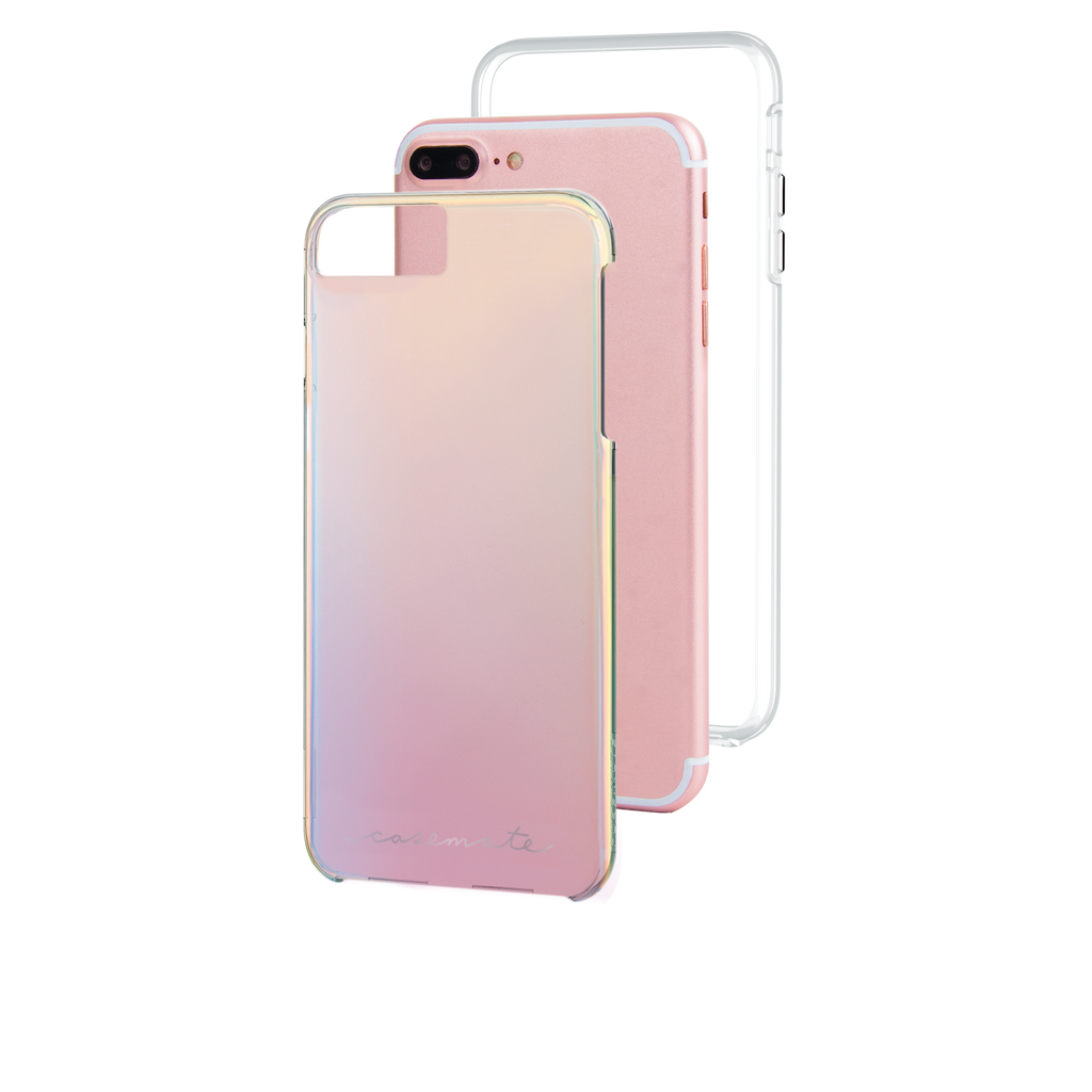 Naked Tough Iridescent iPhone 7 Plus Case Layers