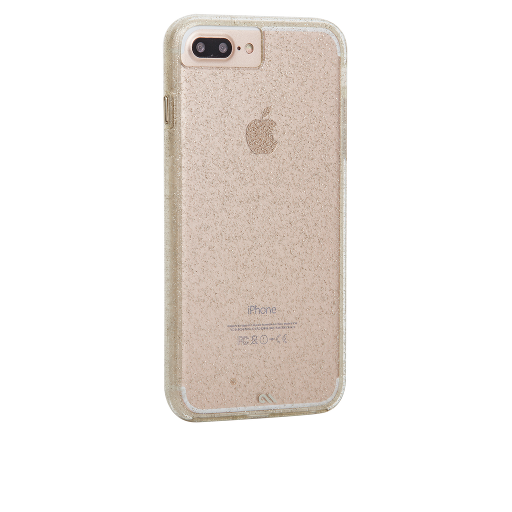 Sheer Glam iPhone 7 Plus Case Model Back Right Angle