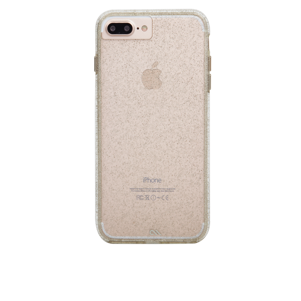 Sheer Glam iPhone 7 Plus Case Back