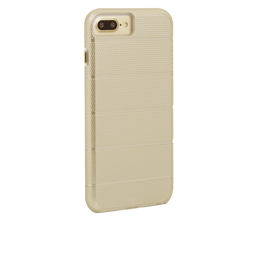 Gold Tough Mag iPhone 7 Plus Case Back Right Angle