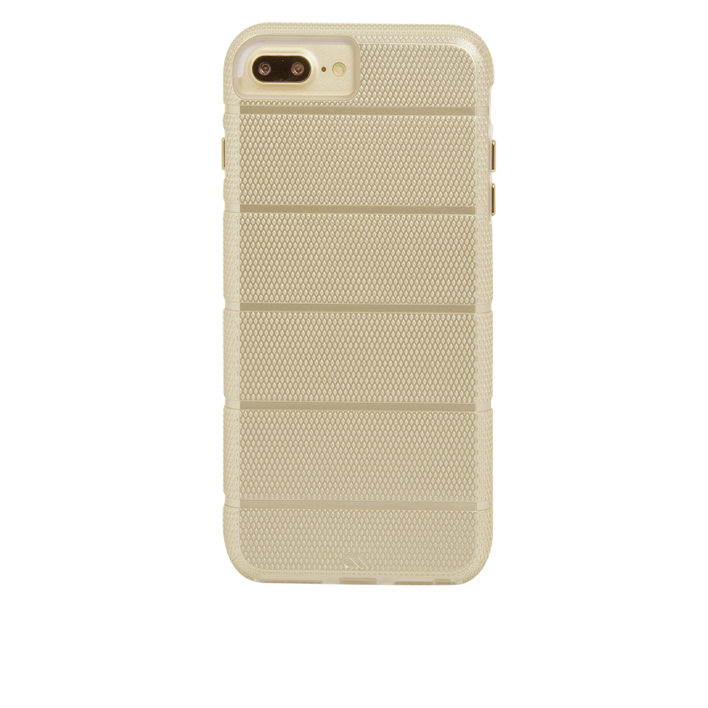 Gold Tough Mag iPhone 7 Plus Case Back