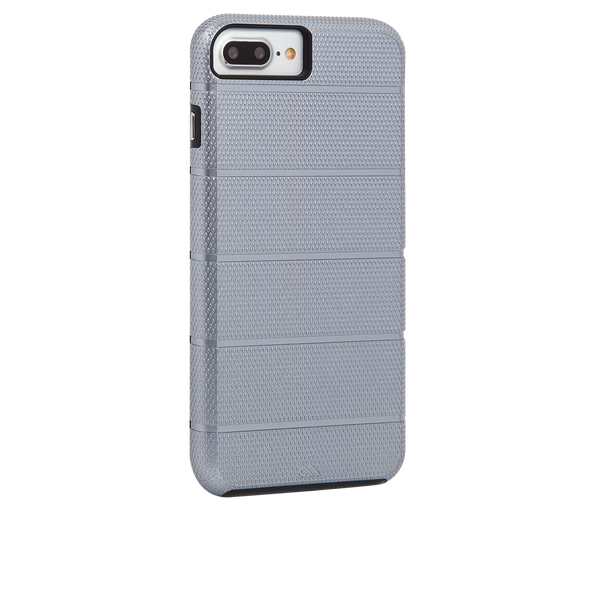 Titanium Gray Tough Mag iPhone 7 Plus Case Back Right Angle