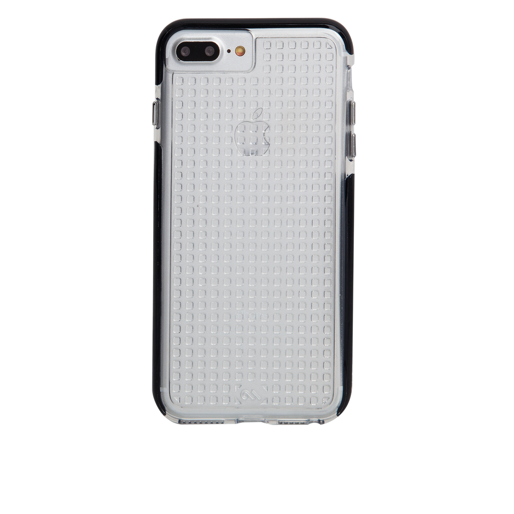 Clear And Black Tough Air iPhone 7 Plus Case Back