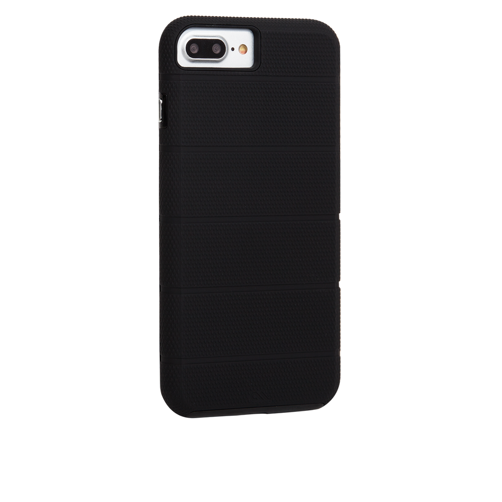 Black Tough Mag iPhone 7 Plus Case Back Right Angle
