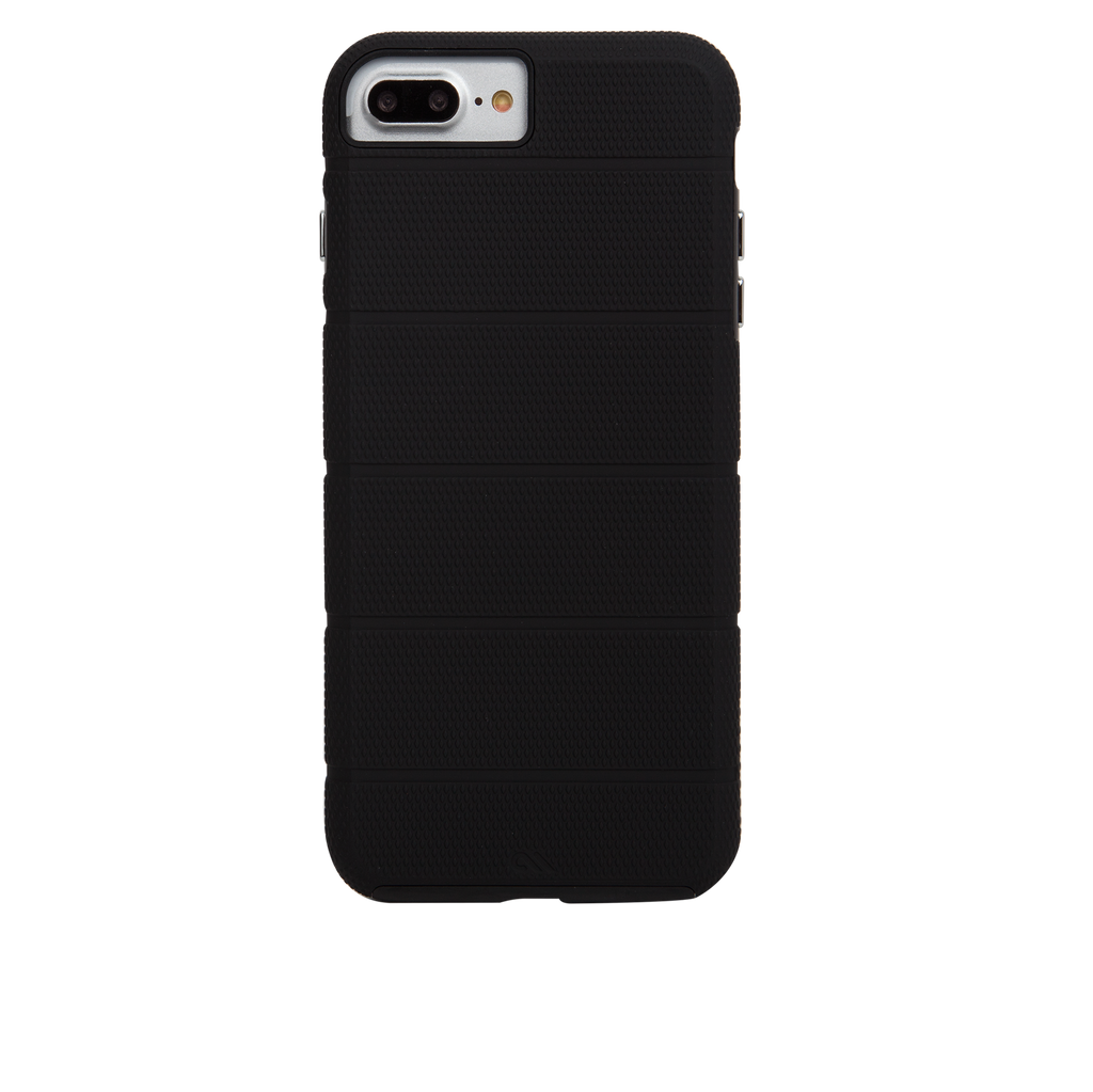 Black Tough Mag iPhone 7 Plus Case Back