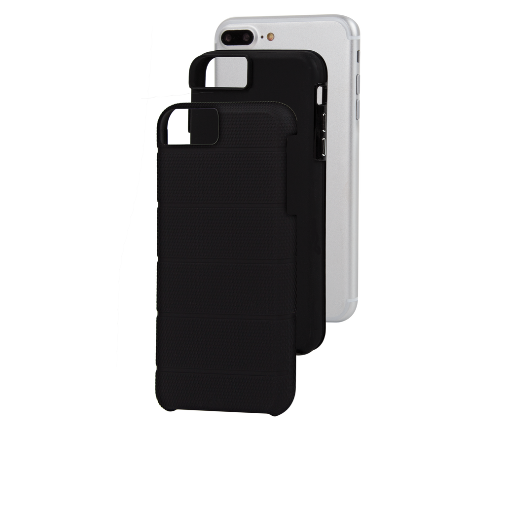 Black Tough Mag iPhone 7 Plus Case Layers