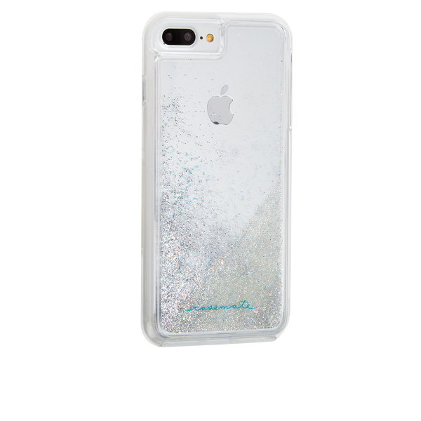 Iridescent Diamond Waterfall iPhone 7 Plus Back Right Angle