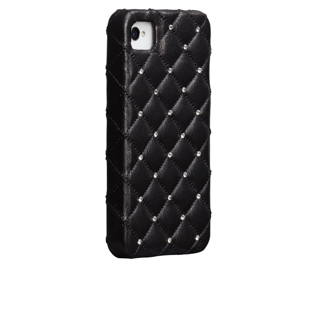 iPhone 4/4s Black Madison Case - image angle 1