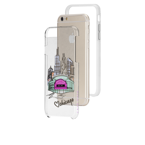 iPhone 6 Plus / 6s Plus Chicago City Prints - Play Ball