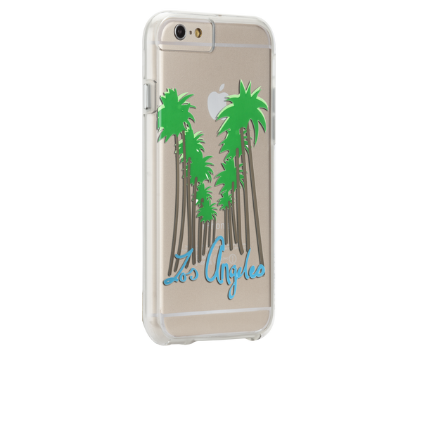iPhone 6s Plus Clear Naked Tough City Prints - Los Angeles - Beverly Hills Case - image angle 1
