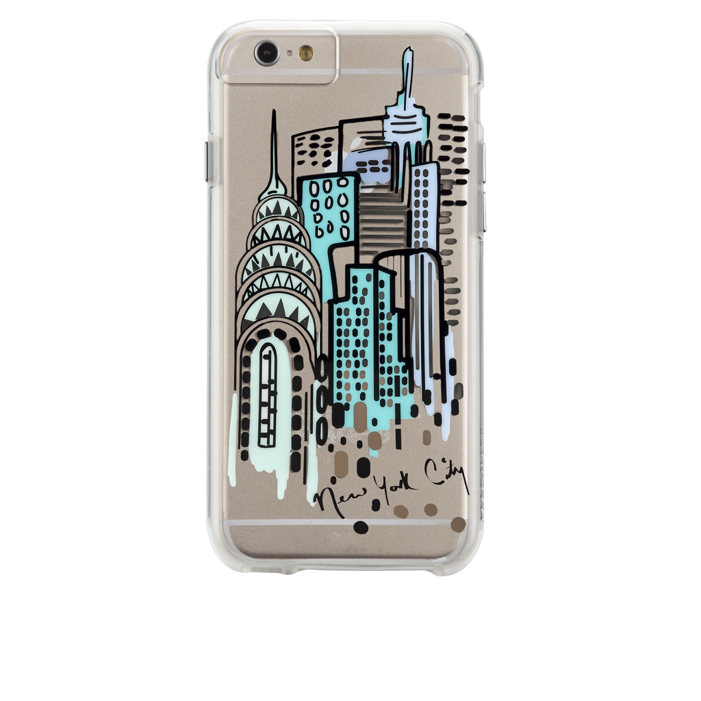 iPhone 6s Plus Clear Naked Tough City Prints - New York - City View Case - image angle 7