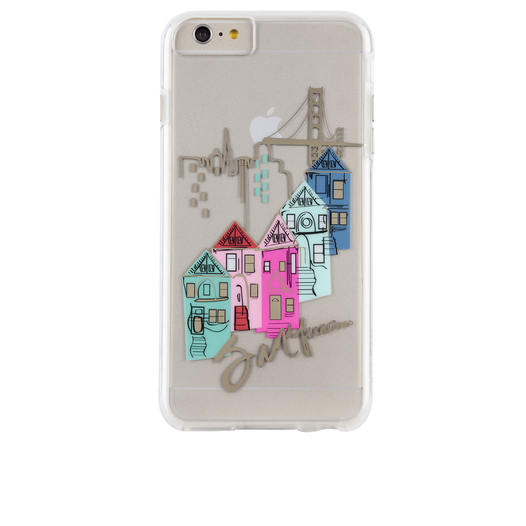 iPhone 6s Plus Clear Naked Tough City Prints - San Francisco - Discover San Francisco Case - image angle 7