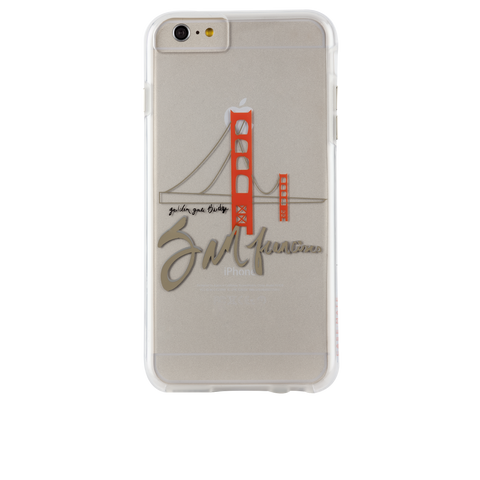 iPhone 6 Plus / 6s Plus San Francisco City Prints - Golden Gate
