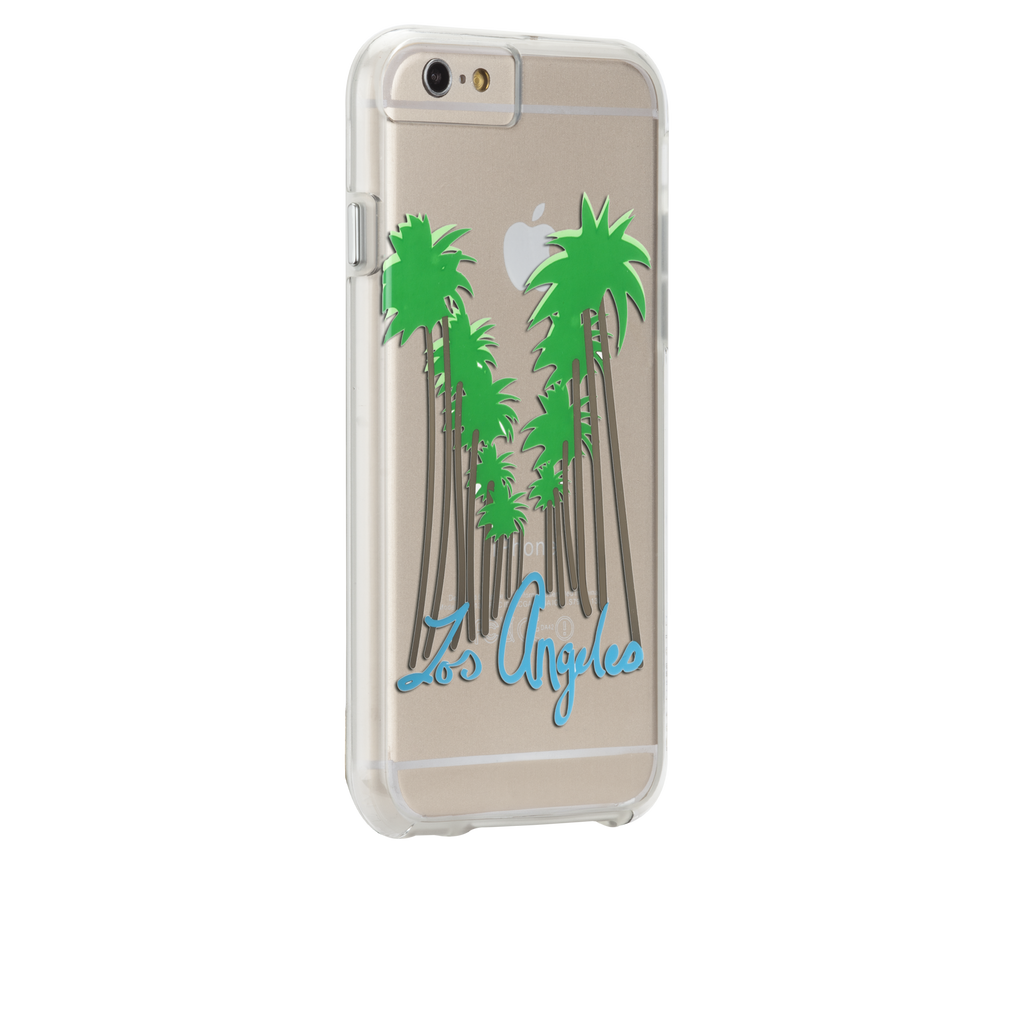 iPhone 6s Clear Naked Tough City Prints - Los Angeles - Beverly Hills Case - image angle 1