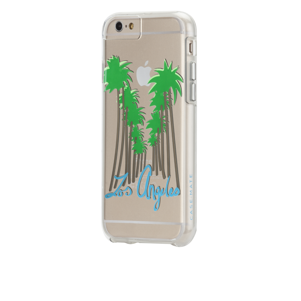 iPhone 6s Clear Naked Tough City Prints - Los Angeles - Beverly Hills Case - image angle 3
