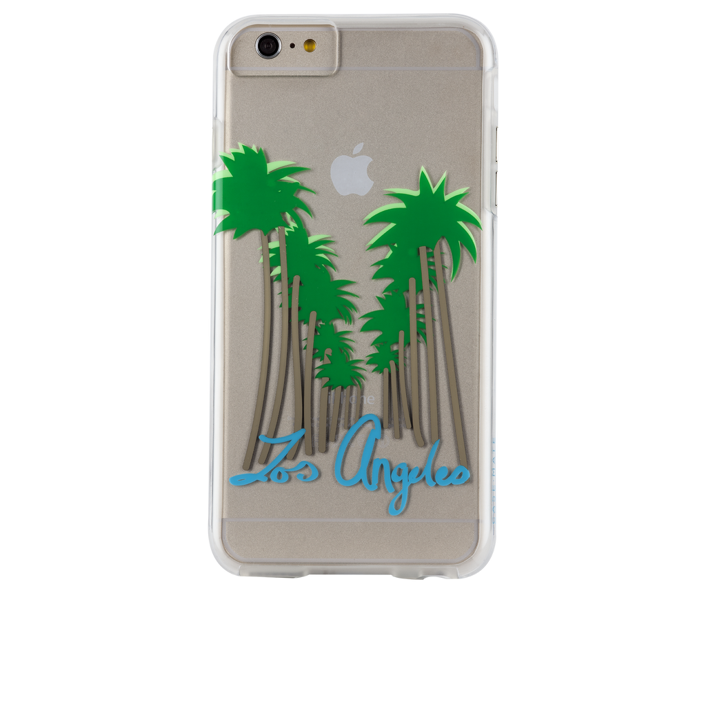 iPhone 6s Clear Naked Tough City Prints - Los Angeles - Beverly Hills Case - image angle 7