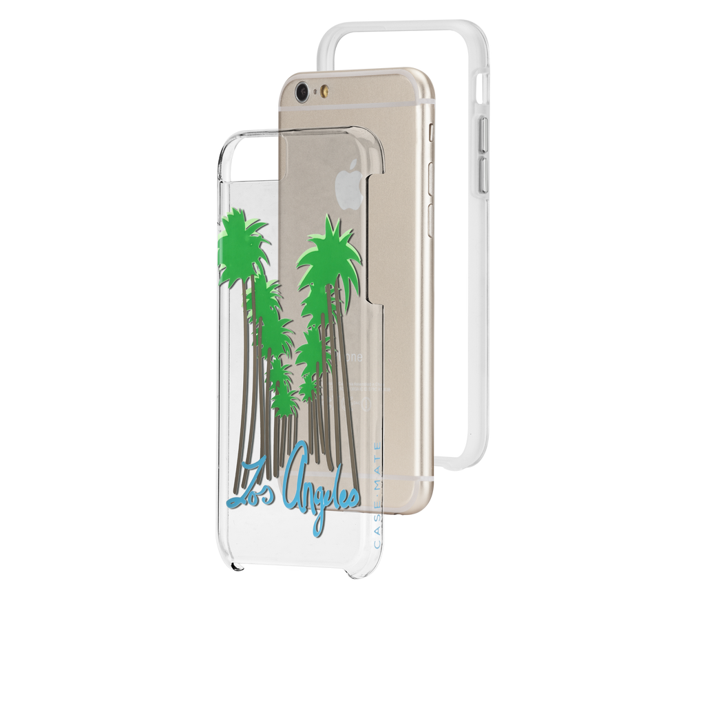 iPhone 6s Clear Naked Tough City Prints - Los Angeles - Beverly Hills Case - image angle 8