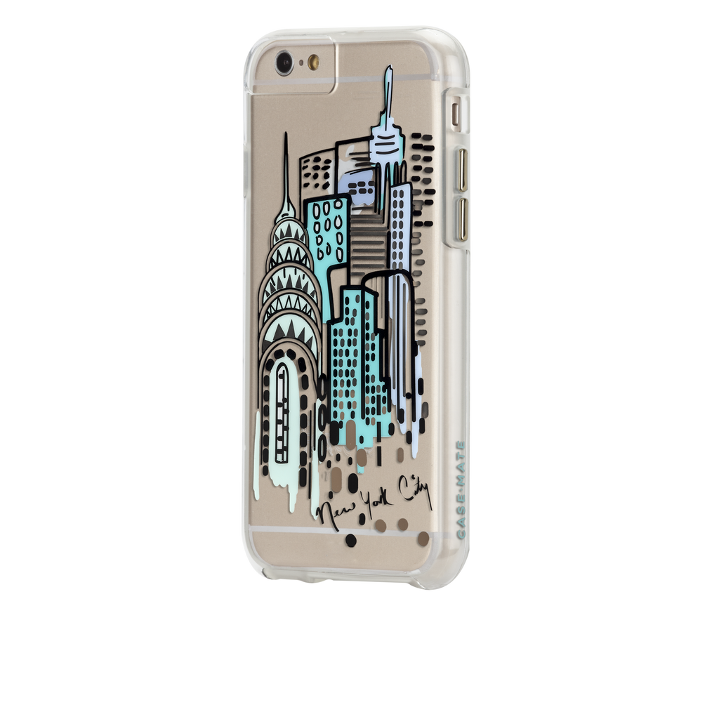 iPhone 6s Clear Naked Tough City Prints - New York - City View Case - image angle 3