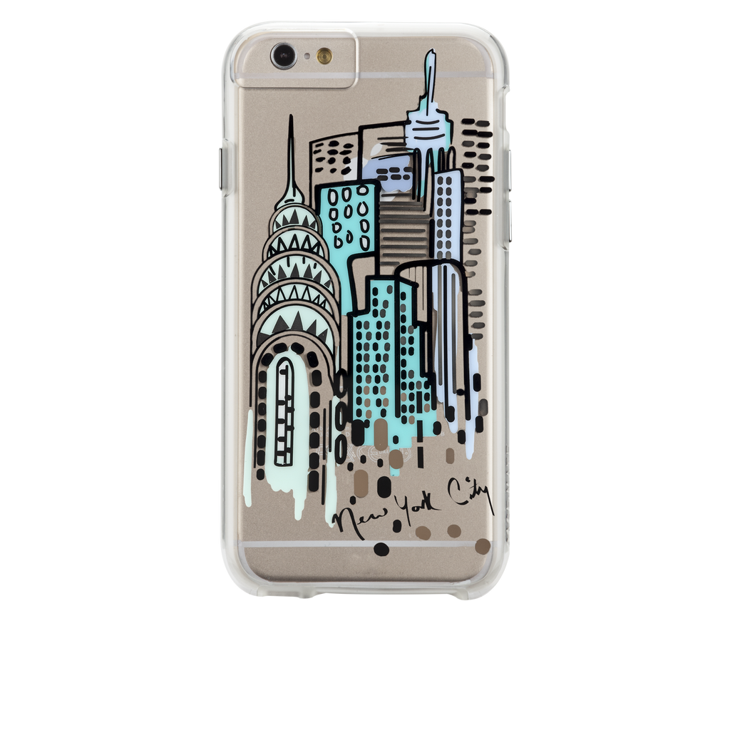 iPhone 6s Clear Naked Tough City Prints - New York - City View Case - image angle 7